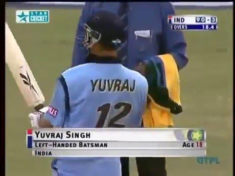 Yuvraj Singh Debut Match