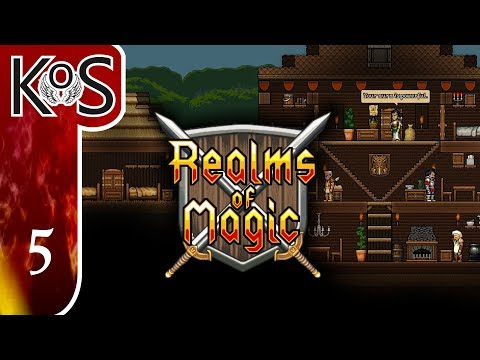 Realms Of Magic Ep 5: ARCHITECTURAL PLANS - First Look - (Early Access) Let's Play, Gameplay