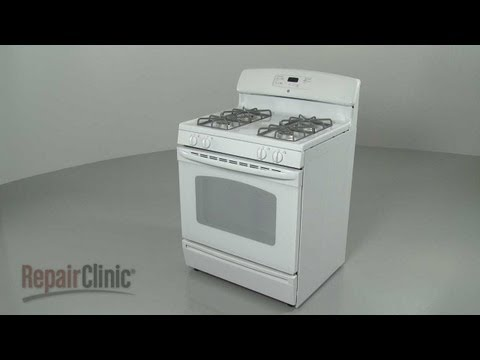 GE Gas Range Disassembly