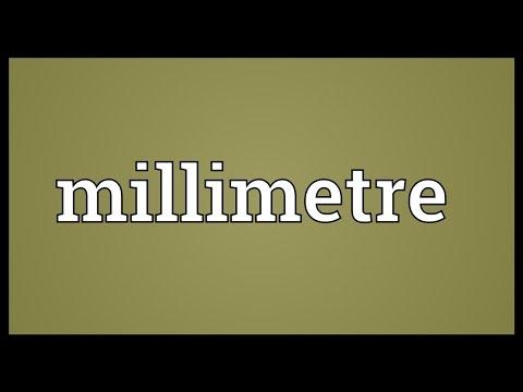 Header of millimetre