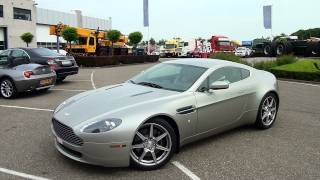 Aston Martin AMV8 sound - LOUD accelerations; 1080p HD