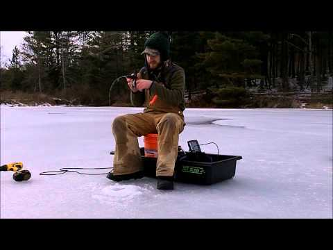 Late Winter Ice Fishing in New Jersey