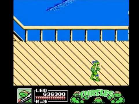 Misc Computer Games - Teenage Mutant Ninja Turtles 3 - The Manhattan Project Scene 6