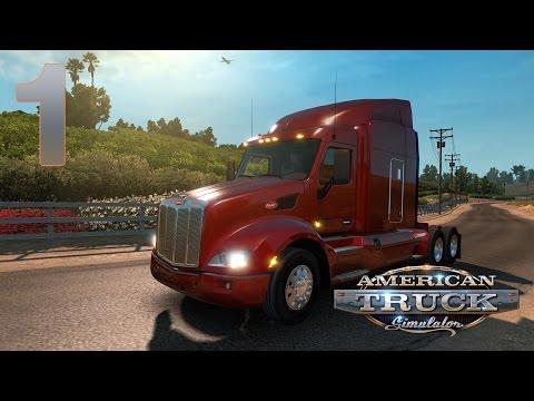 American Truck Simulator Прохождение на русском [FullHD PC] - Часть 1 (Hello, Америка)