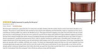 Coaster Storage Entry Way Console Table Review