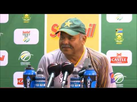 Dav Whatmore, Day 3 Press Conference, First Test, South Africa v Pakistan, 3/2/2013 [Audio]