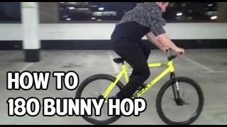 How To - Hop 180 on a Fixed Gear
