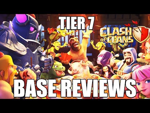 UNLOCKING TIER 7 CLAN GAMES + BASE REVIEWS - Clash of Clans