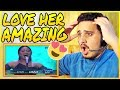 MARIA - NEVER ENOUGH (Loren Allred) - Spekta Show Top 7 - Indonesian Idol 2018 REACTION