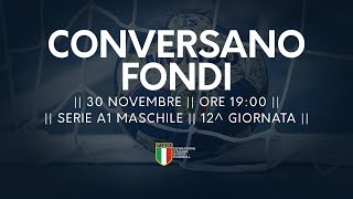 Serie A1M [12^]: Conversano - Fondi 24-18