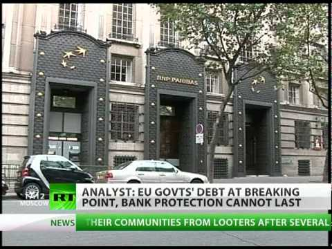 Bank Bet Ban: 'EU govts debt at breaking point'