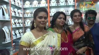 J  K  Rithesh Launches GR Fashion Jewellery Showroom