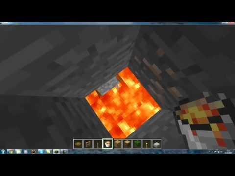 Como crear una trampilla de Minecraft