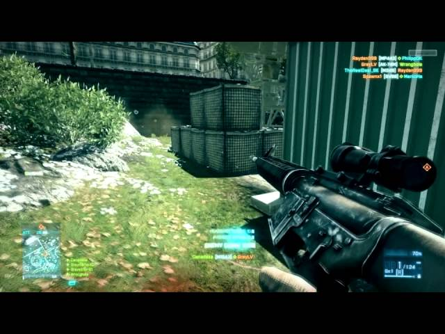 BF3 Beta holes in ground