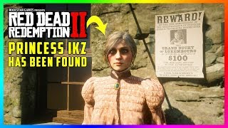 Princess IKZ Has Been FOUND In Red Dead Redemption 2! (RDR2 Princess Isabeau Katharina Zinsmeister)