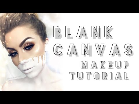blank canvas makeup tutorial | beeisforbeeauty