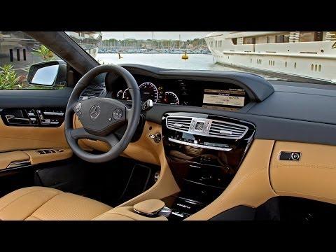 Mercedes-Benz S-Class и CL, интерьер