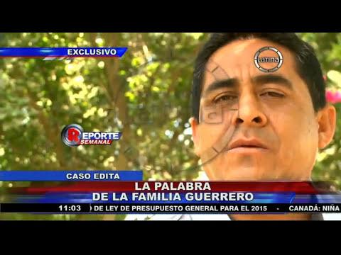 Hermano de Edita Guerrero y rompe silencio tras captura de Paul Olórtegui