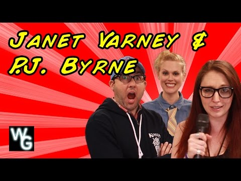 Janet Varney and P.J. Byrne Interview