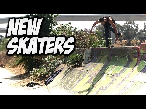 AWESOME NEW SKATERS & MORE !!! - NKA VIDS -