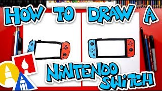 How To Draw A Nintendo Switch + Challenge Time