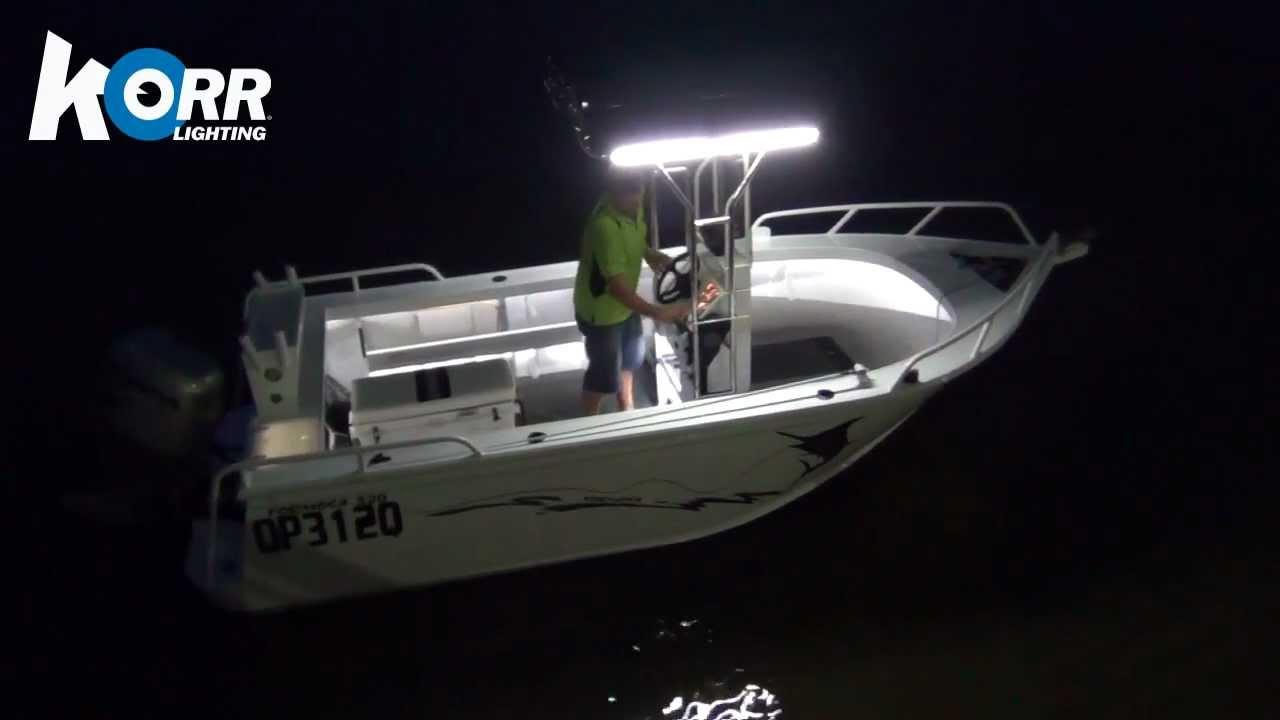 Led Boat Lights Youtube