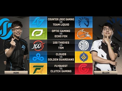 NA LCS Highlights ALL GAMES Week 7 Day 2  W7D2 Spring 2018 + MVP & League Standings