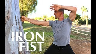 Turn Your FISTS & BONES into IRON Using a TREE | REAL IRON BODY