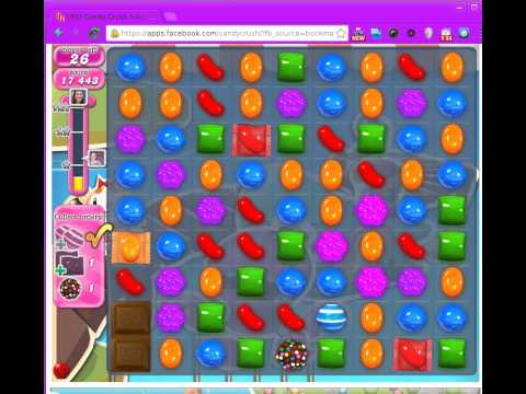 Candy Crush Saga Level 136. 3 Stars