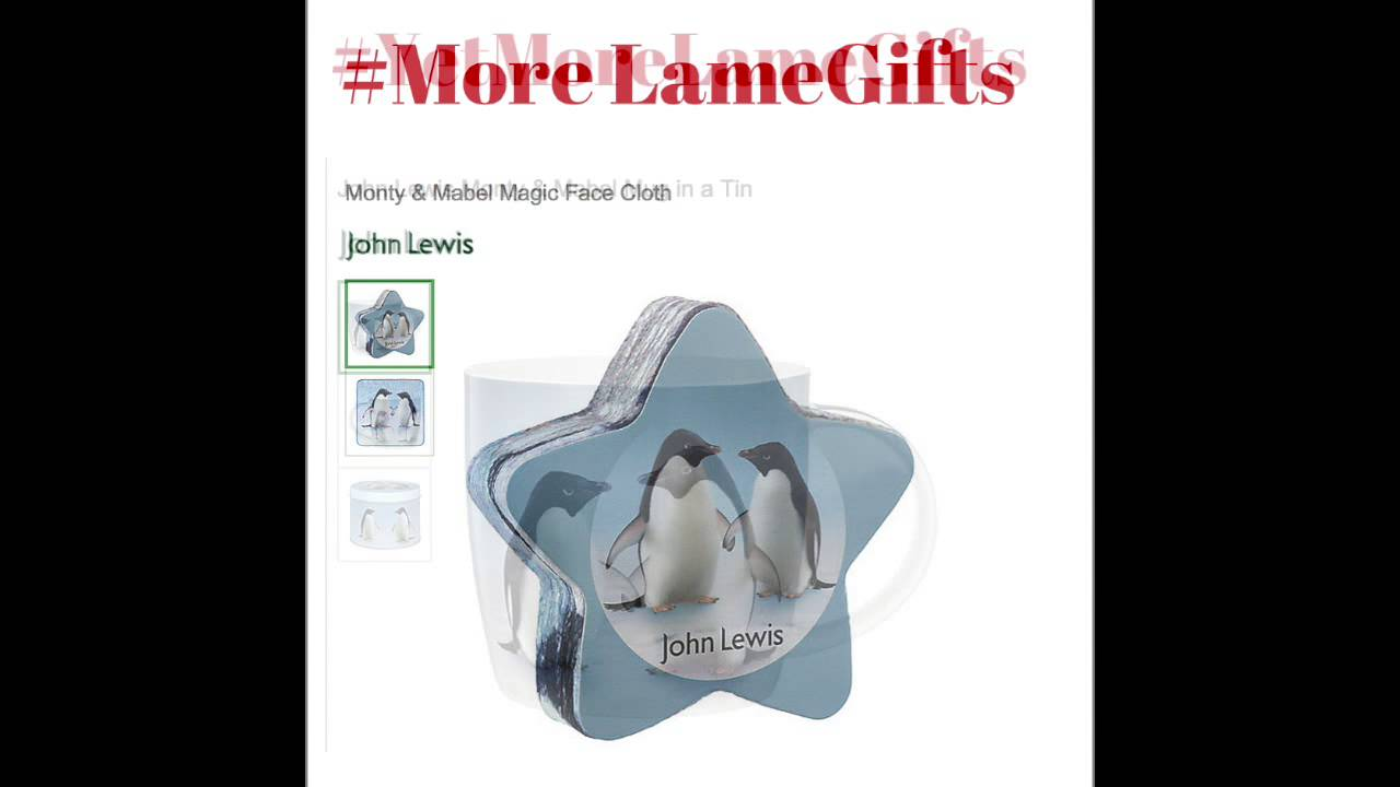 John Lewis Wedding Gift List Review : John Lewis Christmas ad gift guideYouTube