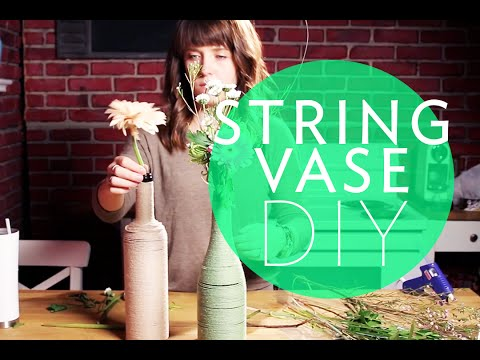 RUSTIC STRING VASE DIY | Friday Requests | Broke But Bougie