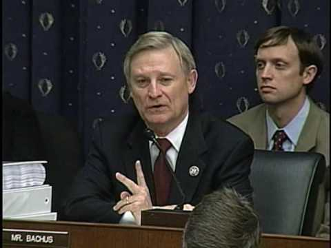 Ranking Member Spencer Bachus Questions Witnesses At Credit Card Hearing