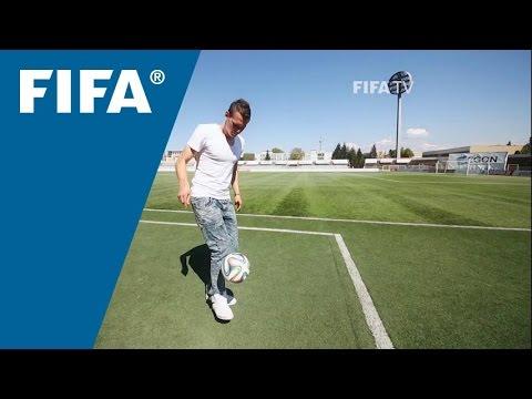 Starlet striker studying Ibrahimovic