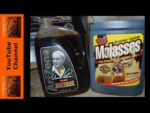 DIY Molasses Buck Jam- All The Best Deer Baits in One!