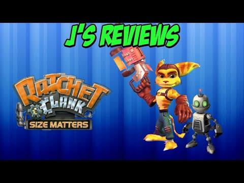J's Reviews Lite: Ratchet & Clank Size Matters(PS2)