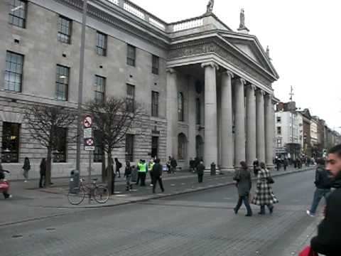 Dublin's Main Post Office (Site of the 1916 Revolution)