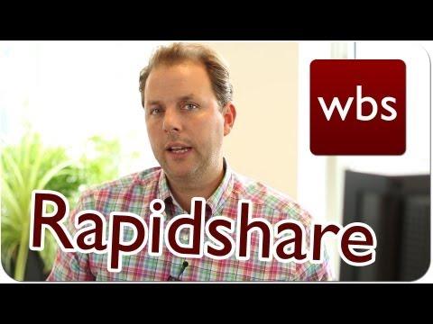 BGH: Neues Urteil zur Haftung von Rapidshare | Kanzlei WBS