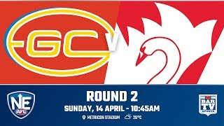 2019 NEAFL - Round 2 - Gold Coast v Sydney