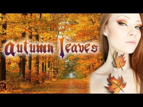 Autumn/Fall Makeup/Body Paint Tutorial