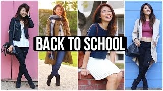Back to School Outfit Ideas! UC Davis College Lookbook 2015