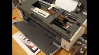 Cis Ciss Continuous ink system for Epson Office B1100 part two