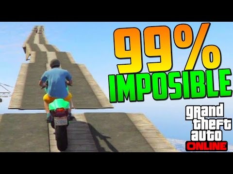 99% IMPOSIBLE!! SUBIENDO EL MAZE BANK!! - Gameplay GTA 5 Online Funny Moments