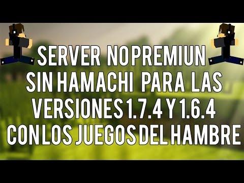 Server para el minecraft 1.7.4 NO premium Sin Hamachi    Minelibre y Staff Landy