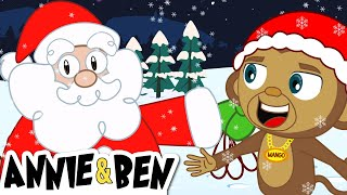 MERRY CHRTSMAS DO DO DO | Christmas Songs for Kids  | Nursery Rhymes by Annie and Ben