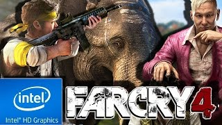 FAR CRY 4 | LOW END PC TEST | INTEL HD 4000 | 4 GB RAM | i3 |