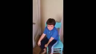 Possessed kid Demon child