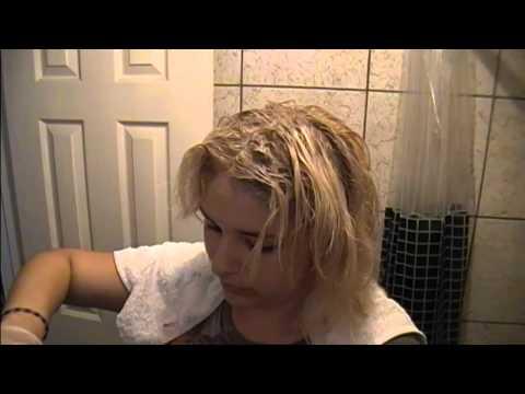 Como decolorar el cabello o extraccion de color p.2 (tinte. efecto y tratamiento)