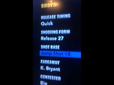 Nba2k14 Stephen Curry Jump Shot