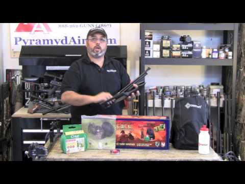 "Crosman Doomsday Bug Out Air Rifle .22 ""Backpacker"" kit - Product Review"