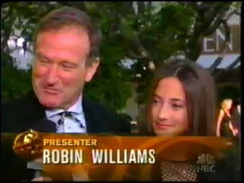2003 Golden Globes pre show interview with Robin and Zelda Williams